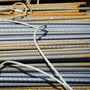 Stack of metal cables