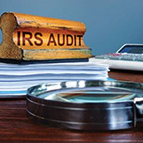 IRS Audit Stamp