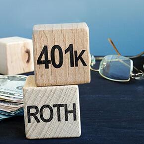 ROTH 401k building blocks