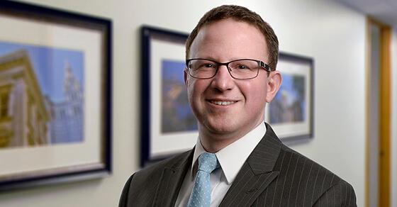 Nick Shires tax partner, headshot in hallway
