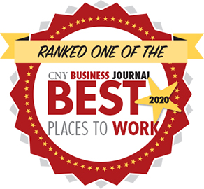 CNY Business Journal Best Places to Work stamp