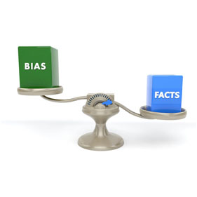 Scale holding bias and facts blocks, facts block is lower than bias