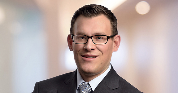 Brian Potter headshot tax partner at Dannible & McKee LLP