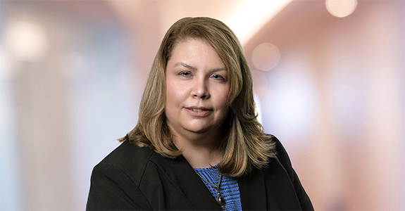 Head shot of Peggy Rowe partner at Dannible & McKee LLP