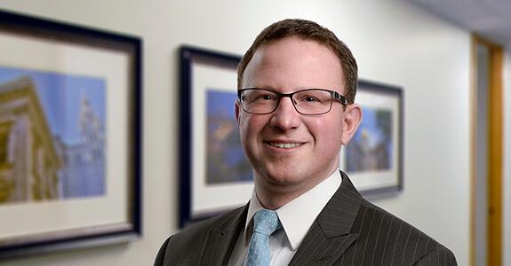 Head shot of Nick Shires partner at Dannible & McKee LLP