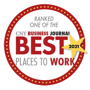 Central NY's 2021 Best Places to Work logo